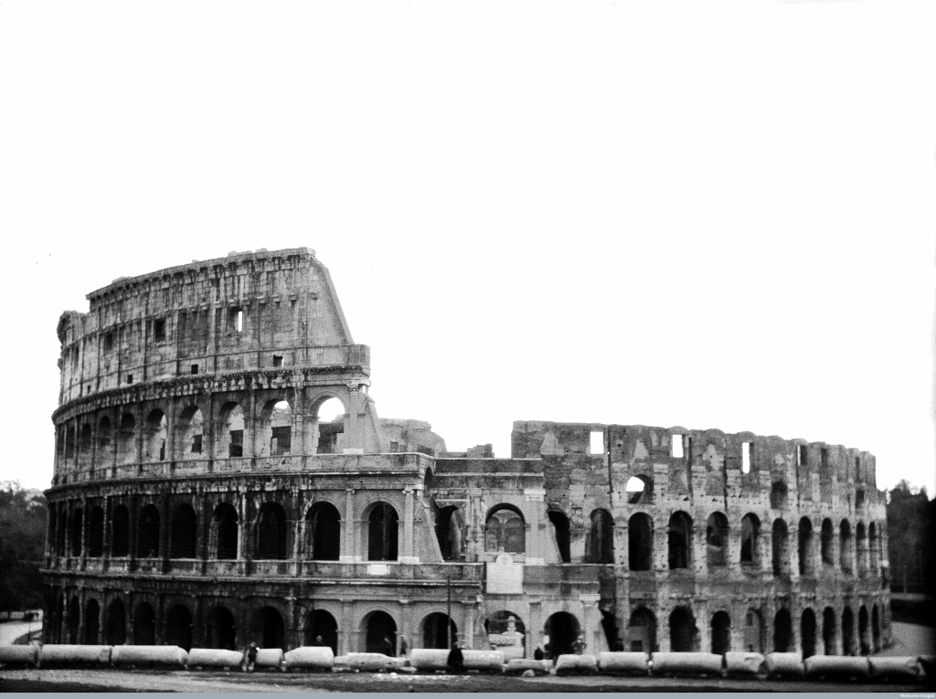M0000099 View of the Coliseum, Rome, Italy Credit: Wellcome Library, London. Wellcome Images images@wellcome.ac.uk http://wellcomeimages.org View of the Coliseum, Rome, Italy Photograph 1929 Published:  -  Copyrighted work available under Creative Commons Attribution only licence CC BY 4.0 http://creativecommons.org/licenses/by/4.0/