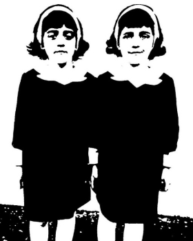 The Old Age of the Twins from The Shining